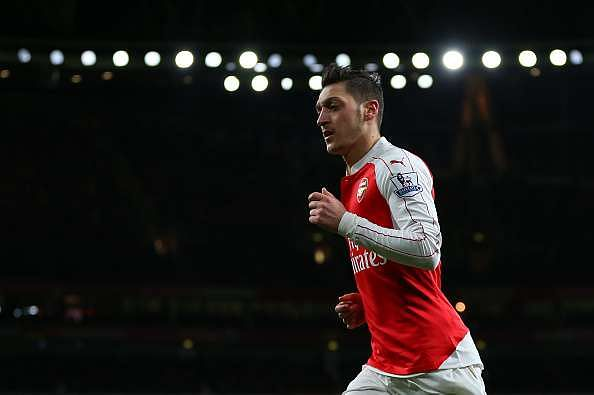 Ozil Arsenal Player of the Season 2015 16