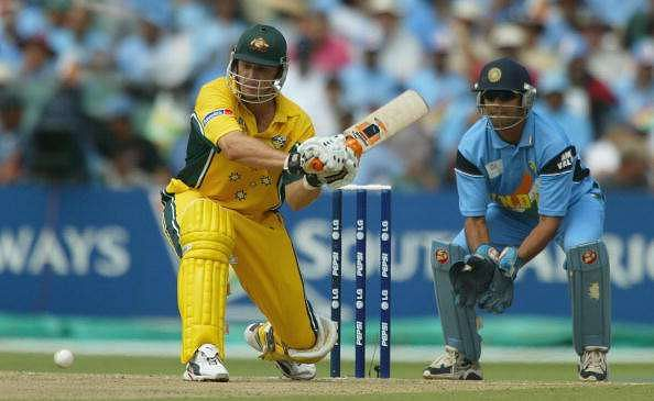 Icc Cricket World Cup 2003 Sourav Ganguly Becomes The First Indian To Score A Hundred In The Tournament S Knockout India Cruise To Final Cricket Country
