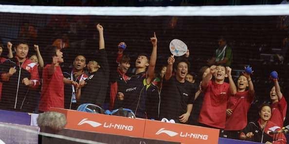 Japan team Thomas Cup 2014