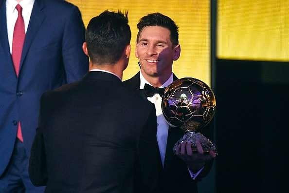 Lionel Messi Cristiano Ronaldo Ballon d