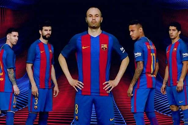 Fc Barcelona Unveil New Nike Home Kit For 2016 2017 Season
