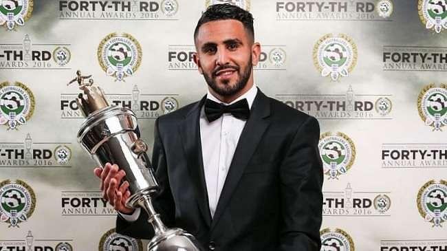 Riyad Mahrez PFA 2016