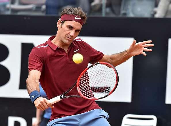 Roger Federer Rome Masters