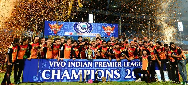 SRH will look for their second IPL title this year.