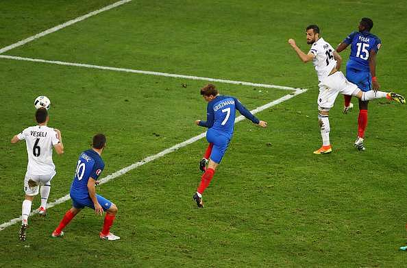 Griezmann France Albania Euro 2016