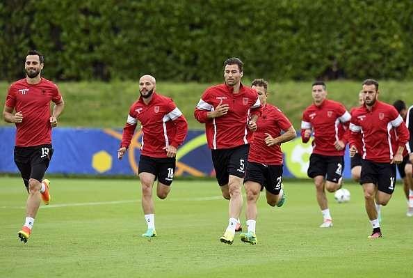 Albania players