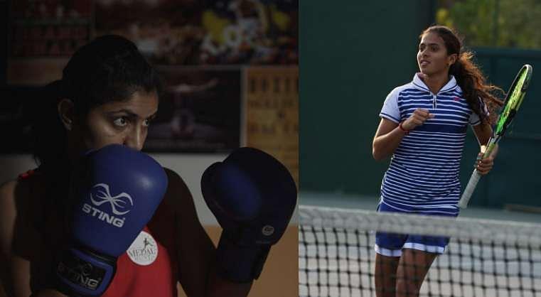 India Olympics Olympian Garv Hai Adani Ankita Raina Pinki Rani
