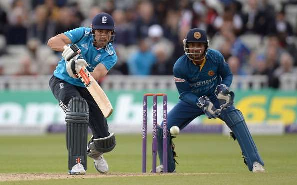 There has always been a question mark over Cook's limited-overs batting