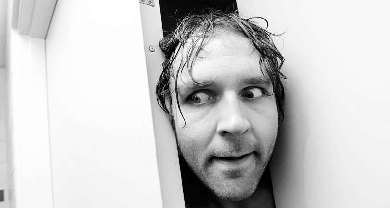 The Lunatic Fringe had a tough childhood, growing up in the public housing system in his hometown of Cincinnati, Ohio (Courtesy WWE)