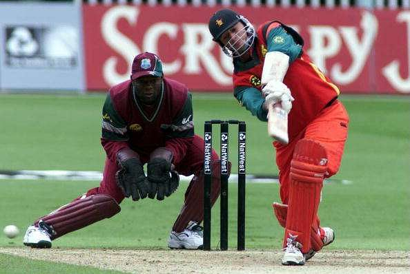 Whittall was a key player in the 1990s Zimbabwe team