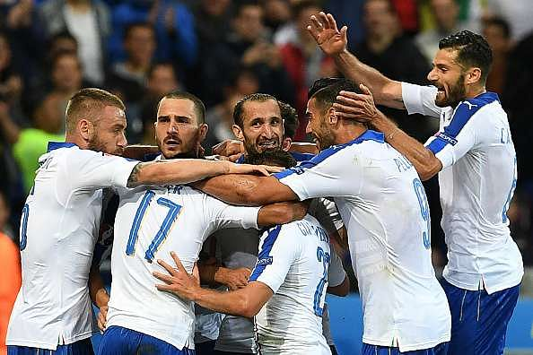 Italy win against Belgium