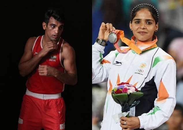 India Olympics Olympian Garv Hai Adani Mandeep Singh Khushbir Kaur