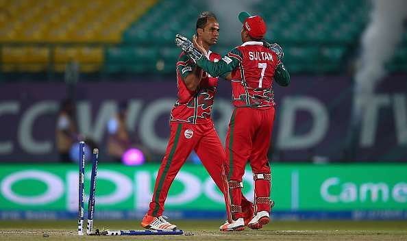 Munis Ansari represented Oman in theICC T20 World Cup 2016