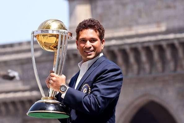 Tendulkar won the World Cup with India in 2011