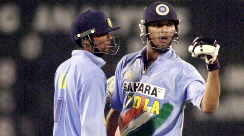 Yuvraj Singh and Md. Kaif