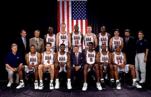 1992 Olympics Basketball Dream Team
