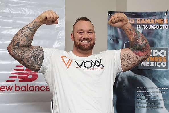 Bjrnsson was unable to complete a hat-trick of European strongman titles