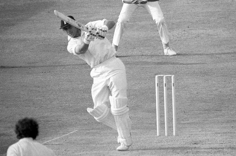 Geoffrey Boycott was never a fluent ODI player (Image Credit: ESPNCricinfo)