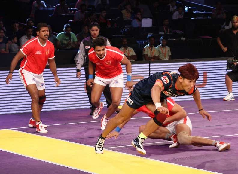 Dabang Delhi vs Bengal Warriors