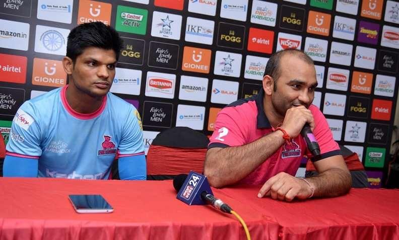 Jasvir Singh Amit Hooda Jaipur Pink Panthers bengaluru Bulls pro kabaddi star sports prokabaddi season 4