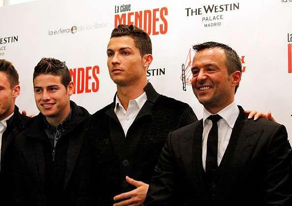 jorge mendes cristiano ronaldo james rodriguez jose mourinho transfers real madrid
