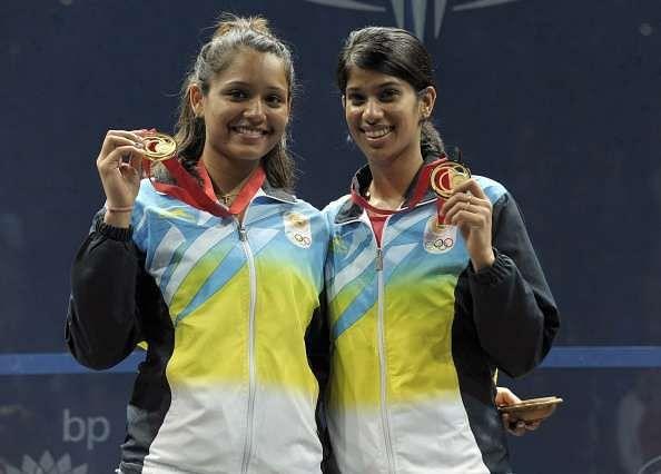 Joshna Chinappa and Dipika Pallikal