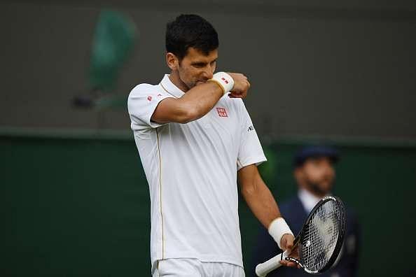 Novak Djokovic Wimbledon 2016