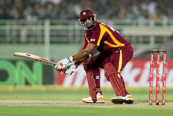 Rampaul took the Indian bowlers to task with some ferocious hitting