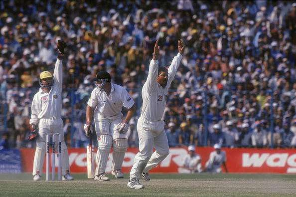 Sachin picked up the wickets of Gilchrist, Hayden and Warne