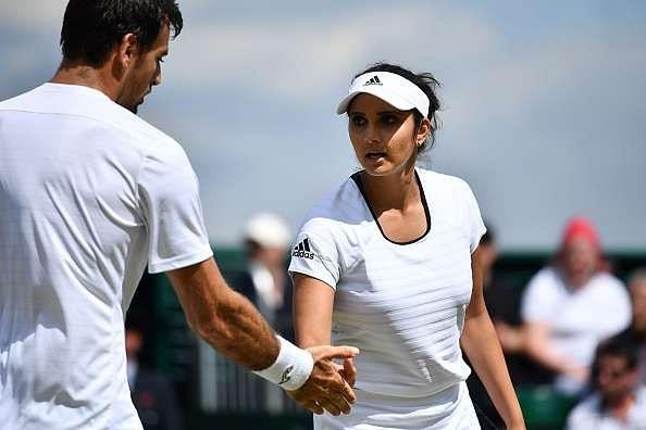 Sania Mirza and Ivan Dodig