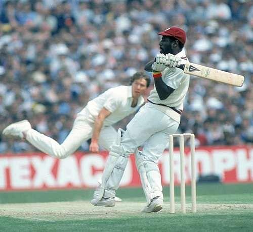 Viv Richards was the most charismatic batsman of his generation