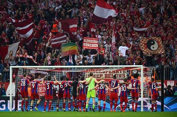 The Allianz Arena in Munich