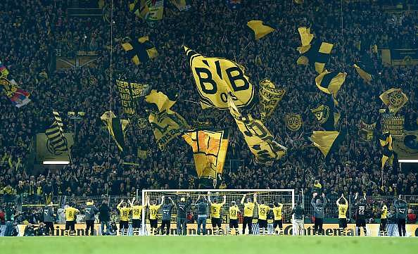 The Signal Iduna Park witnesses an average turnout of over 80,000 spectators in every game
