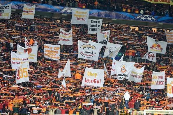 Galatasaray fans are as passionate as they come