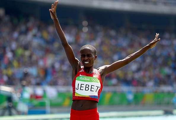 Jebet 3000m steeplechase gold