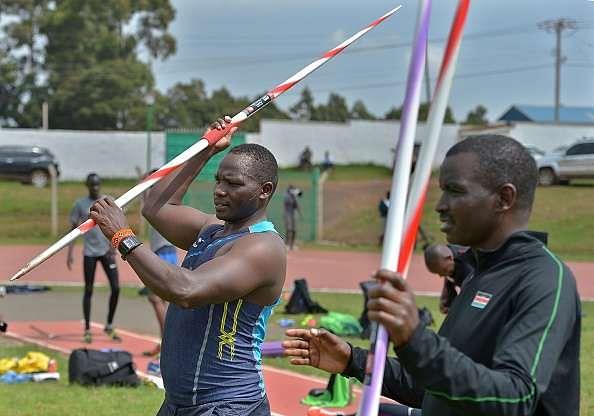 Julius Yego javelin Kenya