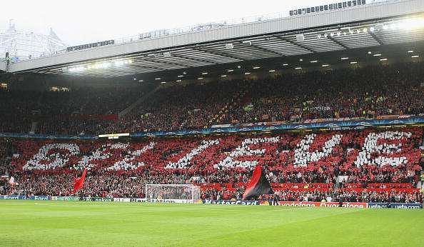 Old Trafford is biggest stadium amongst Premier League clubs currently