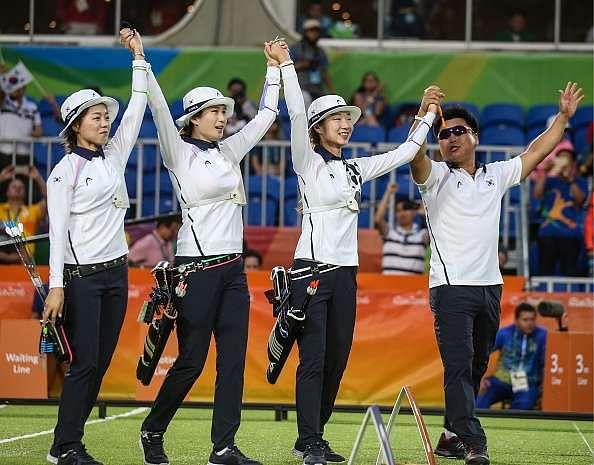South korea team