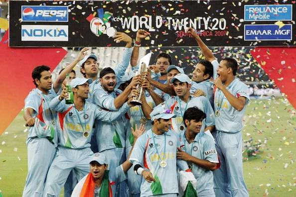 India T20 WC Champs