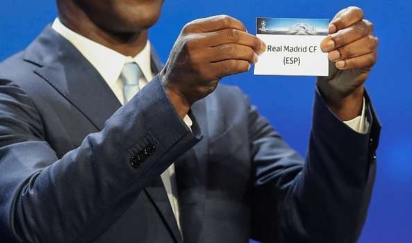 UCL Draw 2016-17 Group Stage