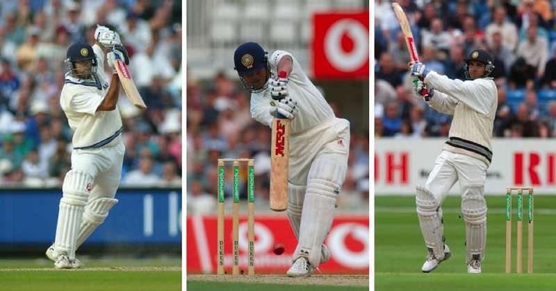इस मैच में राहुल द्रविड़, सचिन तेंदुलकर और सौरव गांगुली तीनों ने शतक बनाया था