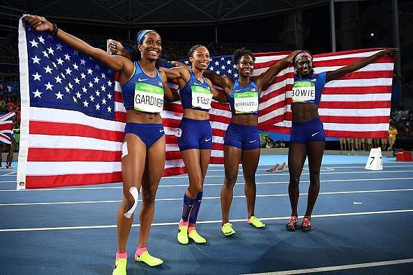 USA gold medal Women