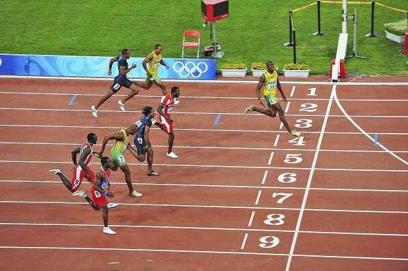 Usain Bolt 100m 2008 Olympics Beijing