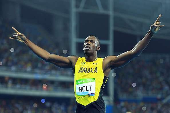 Rio Olympics 2016: Usain Bolt wins 200m gold for the third time in his career