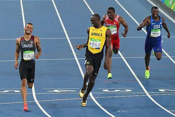 Rio Olympics 2016: Usain Bolt qualifies for the Men's 200m final, Justin Gatlin eliminated in semi-final