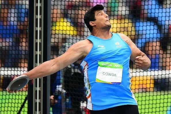 Vikas Gowda discus throw Rio 2016 Olympics
