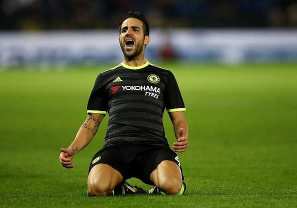 EFL Roundup: Fabregas double gives Chelsea comeback win over Leicester, while Liverpool ease past Derby