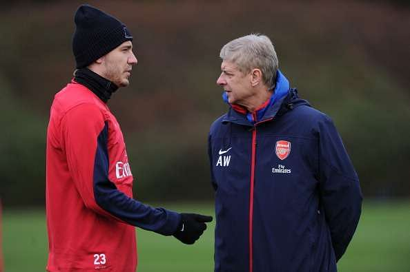Arsenal Arsene Wenger Nicklas Bendtner