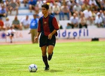 Arteta was a part of La Masia but could not break into Barcelona