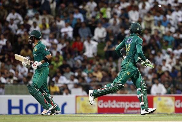 Babar Azam and Shoaib Malik